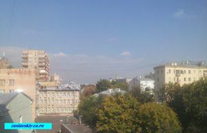 Фото вид из окна продаю квартиру Б.Бронная улица
